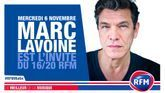 Mercredi 6 novembre: Marc Lavoine est l'invité du 16/20 RFM