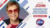 Quizz : Connaissez-vous vraiment les chansons d'Elton John ?