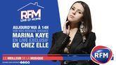 RFM Live @ Home : à 14h, retrouvez un live exclusif de Marina Kaye de chez elle !