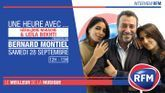 Samedi 28 septembre : Géraldine Nakache et Leïla Bekhti sont les invitées de Bernard Montiel