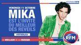 Vendredi 11 octobre : Mika est l'invité du Meilleur des Réveils