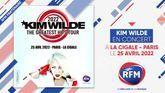 Kim Wilde en concert à Paris le 25 avril 2022 !
