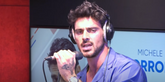 Michele Morrone interprète son tube «Hard For Me» sur RFM