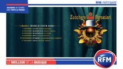 RFM partenaire de la tournée française de Zucchero