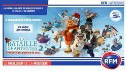 RFM partenaire du film « La bataille géante de boules de neige 2 »