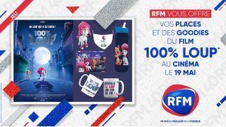 100% Loup : RFM vous offre vos places et des goodies du film !