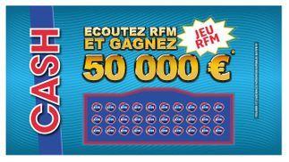 Ecoutez RFM et gagnez 50.000 € !