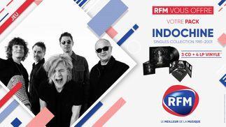 RFM vous offre votre pack album du groupe Indochine !
