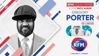 RFM vous offre votre pack album Gregory Porter