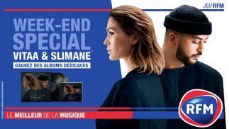 Vitaa & Slimane: ce week-end RFM vous offre l'album « VersuS » dédicacé!