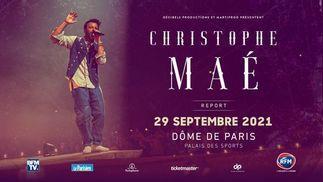 Christophe Maé en concert au Dôme de Paris le 29 septembre et à l'AccorHotels Arena le 14 octobre !