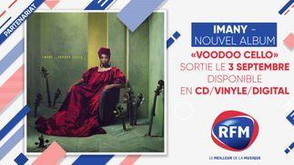 Imany: son nouvel album «Voodoo Cello» disponible le 3 septembre !