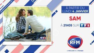 Lundi 4 janvier, à 21h05: découvrez la saison 5 de SAM en association avec RFM !