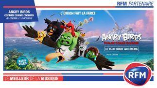 RFM partenaire du film «Angry Birds, copains comme cochons»