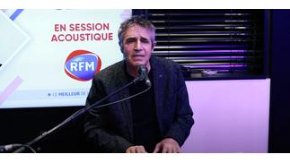 Julien Clerc interprète «Mon Refuge» en live sur RFM !